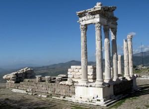 Turčija-Pergamon-Atalova akropola