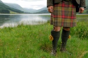 Skotska-kilt