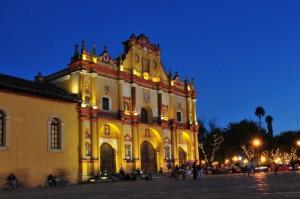 Katedrala v bližnjem San Cristobal De Las Casas
