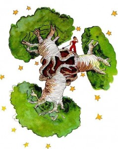 SRILANKA-Mali Princ na svojem planetu ki so ga prerasli kruhovci