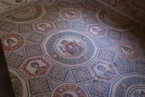 Sicilija-Villa-Romana-del-Casale-talni-mozaiki-patricijske-vile