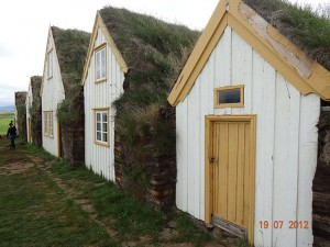 vikinške hiše