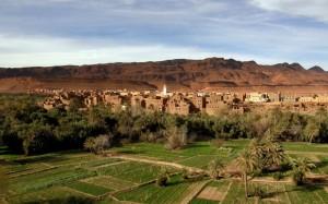 Maroko-Kanjon Todre