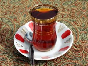 Turčija-skodelica čaja-tulipanček