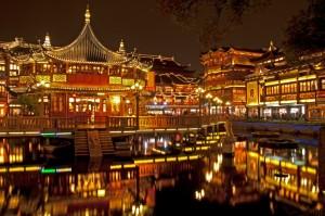 Nočni Shanghai