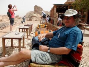Z Marjanom Ogorevcem v Jordanijo