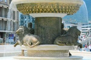 Skopje - Levja fontana