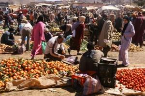 Maroko-tržnica
