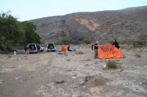 Postavljanje kampa
