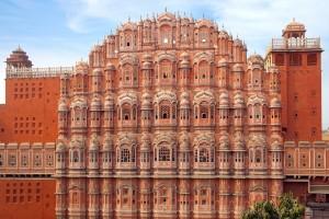 Indija - Jaipur, Hava Mahal