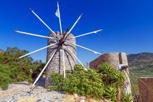 Kreta- mlin na veter
