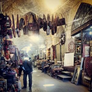 Svilena cesta - Esfahanska tržnica