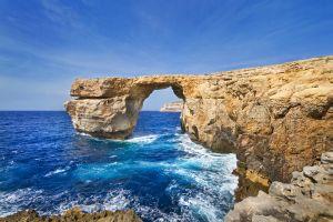 Malta-Gozo-Azurno okno