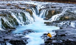 Islandija-Bruarfoss