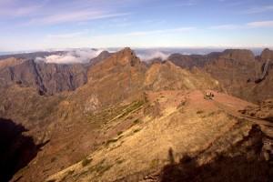 Srce otoka-pogled iz Pica Arieira