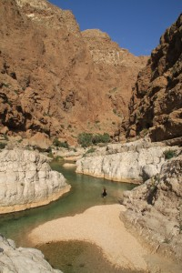 OMAN-Omanski wadiji so polni sveže vode-Marijana Panić