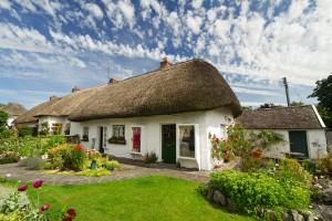 Irska-Tradicionalne hiše