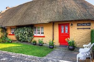 Irska-Adare, tradicionalna hiša