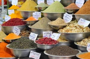Iran-Bazar začimb v Širazu