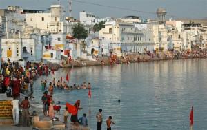 Indija-Pushkar sveto jezero