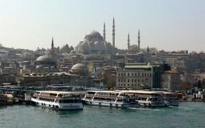 Turčija - Pogled na Eminonu