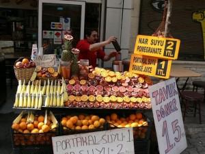 Turčija-Sveži pomarančni sok