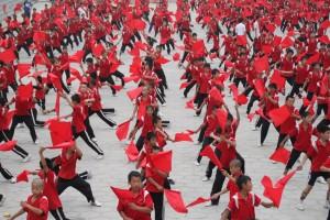 Kitajska, popoldanska vadba šaolinov