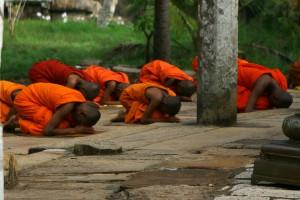 Šrilanka-budistični menihi