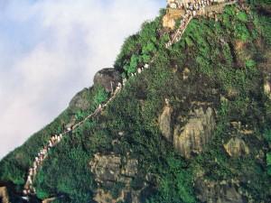 Šrilanka-vzpon na Adamov vrh