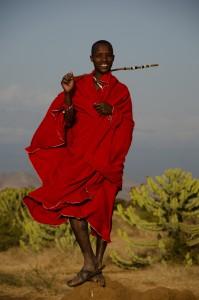 4. Masaji so najbolj poznano ljudstvo Tanzanije