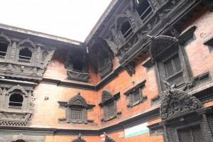 Nepal-Kumari Bahal-dom žive boginje