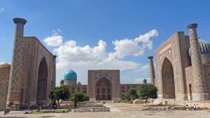 Registan-Sumarkand-Uzbekistan
