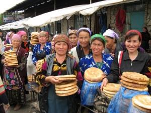 Uzbekistan-Prodajlke kruha