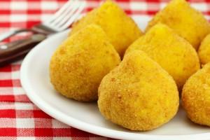 Sicilija-Hrana, arancini