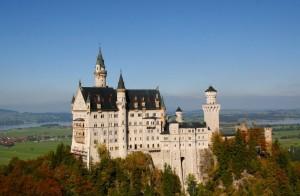 Schloss Neuschwanstein-Grad Ludvika Bavarskega