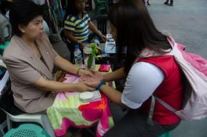 Manila-Branje prihodnosti pred baziliko QuiapoManila