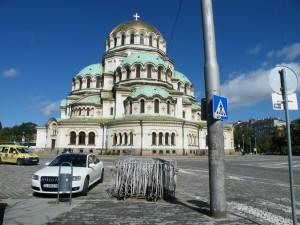 Mogočna katedrala Aleksandra Nevskega v Sofiji