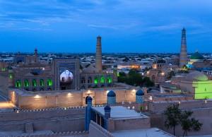 Khiva ponoči