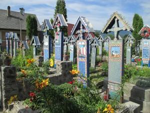 Veselo pokopališče v Sapinti  (Romunija)