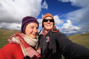 Življenje z pol nomadi- Marijana in Ana Marija