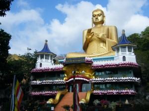Dambulla, Zlati tempelj