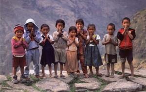 Nepalski otroci