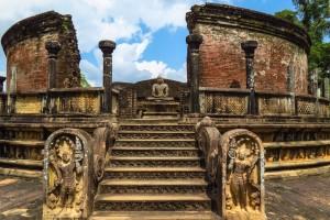 Polonnaruwa, ostanki okroglega templja