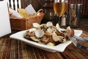 Portugalska hrana-Porco A Alentejana