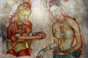 Sigiriya, freske