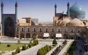 Iran - Mošeja v Esfehanu