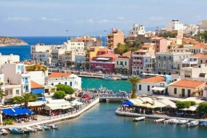 Kreta-Agios Nikolaos, zalivček Volusmeni
