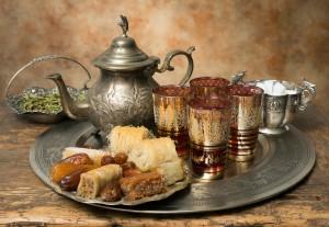 Maroko- čaj in sladice