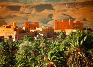 Maroko-čudovita kasba v Atlasu