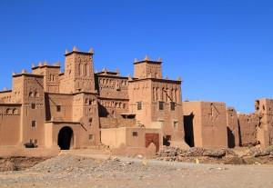 Maroko- Quarzazate- kasba Skoura